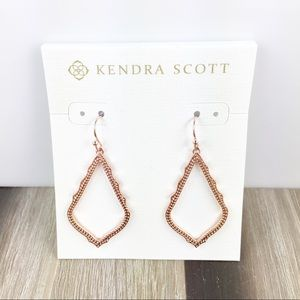 Kendra Scott Sophia rose gold earrings